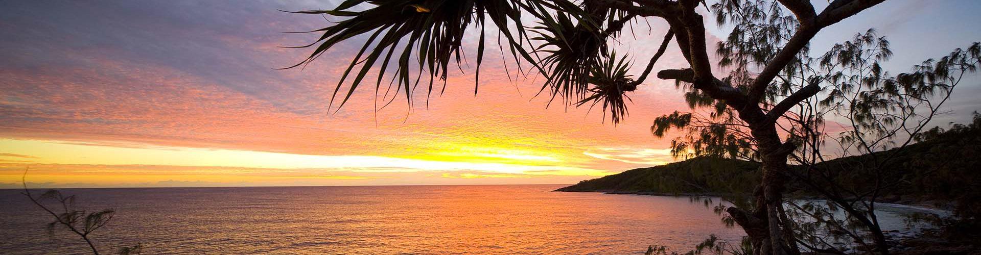 sunrise over noosa