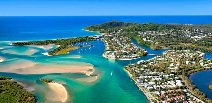 Accommodation In Noosa Location